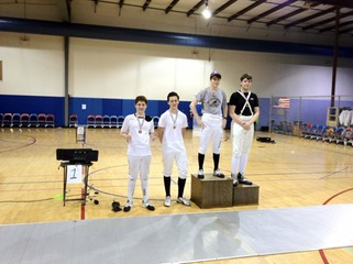 Epee2012StateMedals